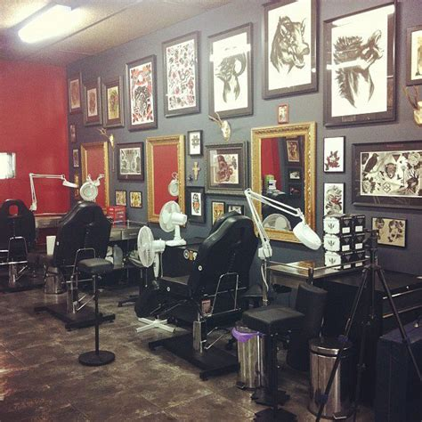 tattoo parlor shop interior studio design gallery best design