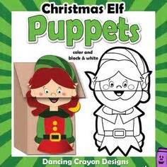 printable christmas paper bag puppets christmas tree puppet puppet christmas tree and parents