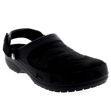 mens lightweight sandals mens crocs yukon slip on lightweight casual clogs