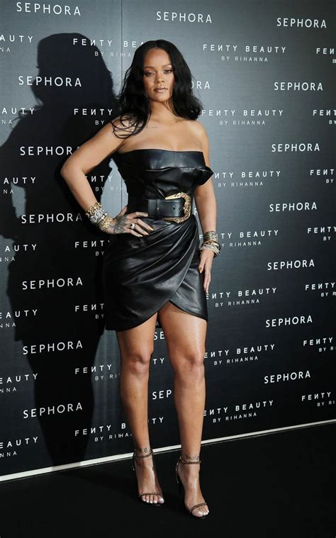 Fienty Rihanna 5 rihanna has a in milan with niece majesty at sephora launch of fenty
