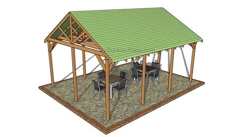 pavilion plans backyard outdoor pavilion plans free outdoor plans diy shed