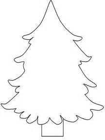 christmas tree line art cliparts co