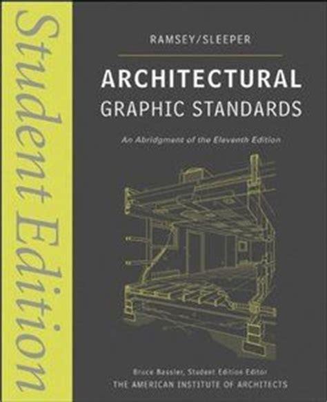 libro the fundamentals of graphic download architectural graphic standards 11th edition ebook pdf libros more