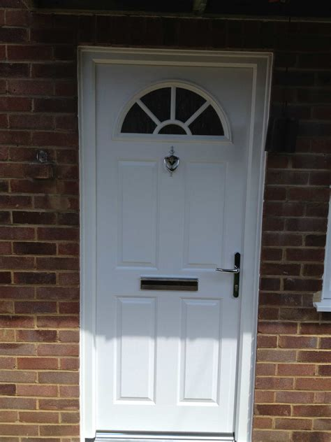 White Composite Front Doors Front Entrance Doors Exterior Doors Replacement Surrey Dorking Glass
