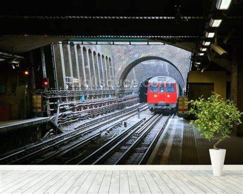 wallpaper for walls london london underground train wallpaper wall mural wallsauce