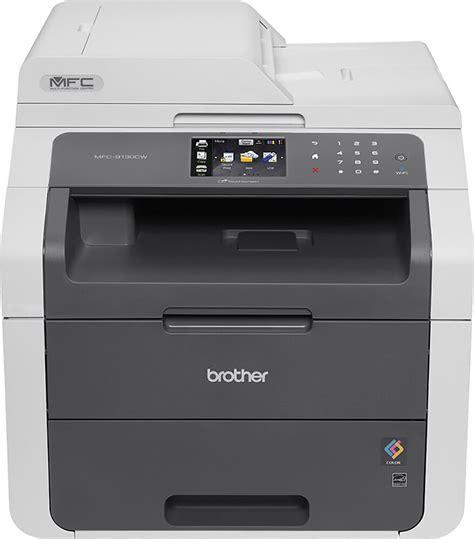 color printers mfc 9130cw color wireless laser printer gray