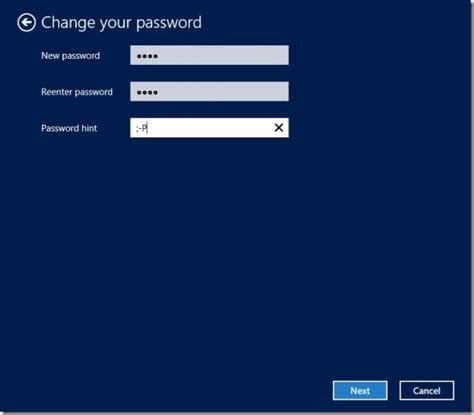pattern password for windows 8 how to change password in windows 8