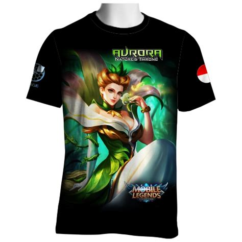 Kaos Tshirt Unik Berak Ls7032 t shirt skin nature throne mobile legends qdr