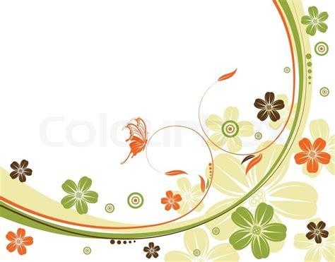 design my background flower background with wave pattern element for design