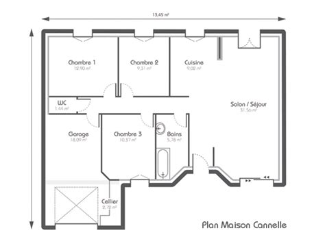 Beau Interieur De Maison Contemporaine #6: plan-maison-constructeur.jpg
