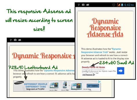 adsense responsive ads how to add dynamic responsive adsense ads in any website