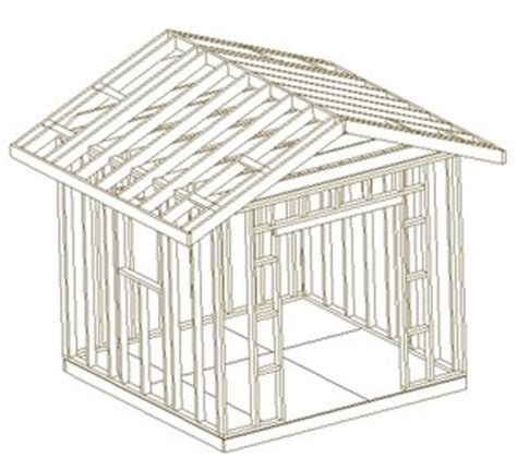look free 10x10 shed plans pdf goehs