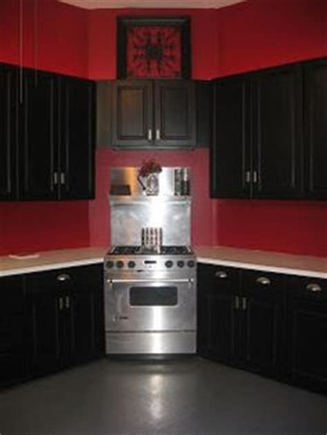 red and black kitchen cabinets 1000 images about kitchen accessories on pinterest red kitchen cabinets and kitchens