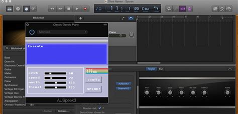 unser weg zum speech synthesizer plugins in garageband