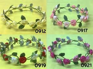 Jepit Rambut Anak Cleopatra Crown 1 flower crown aba collection