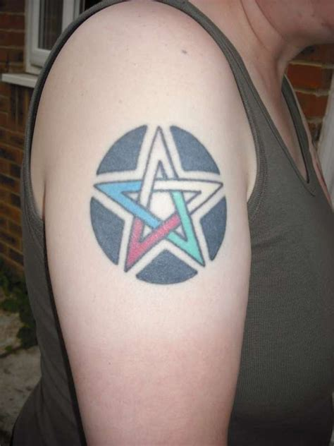 pentagon tattoo pentagram tattoos inspiring tattoos