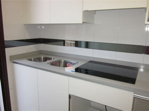 colores encimeras compac foto encimera de cocina en compac ceniza de marmoleria sa