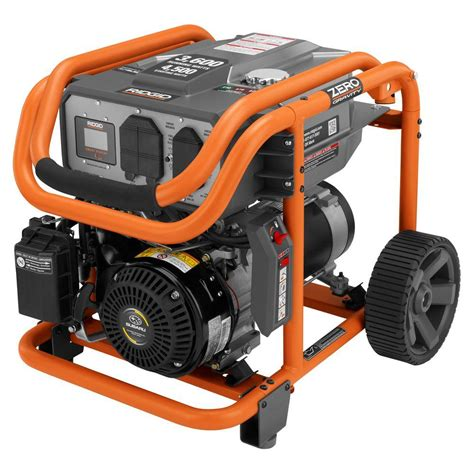 ridgid 3 600 watt 211cc gasoline powered portable