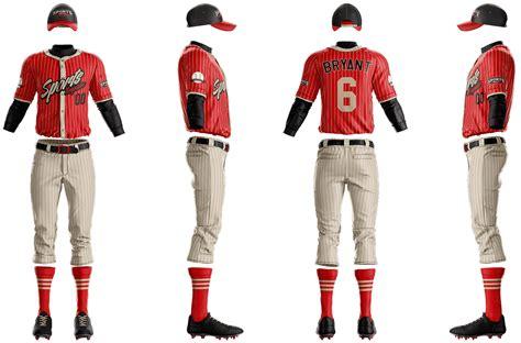 mlb baseball jersey uniform builder template