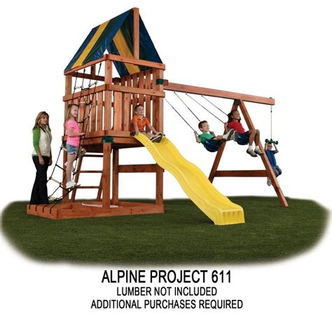 alpine swing set 17 best images about kid spaces backyard on pinterest