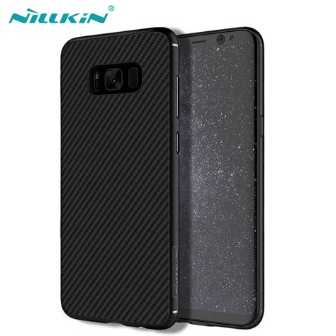 Samsung Galaxy S8 Plus Syntetic Fiber Original for samsung galaxy s8 s8 plus nillkin synthetic fiber back cover pp back shell for
