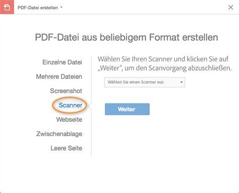 how to create pdf from scanner on mac including high sierra dokumente in pdf dateien scannen adobe acrobat