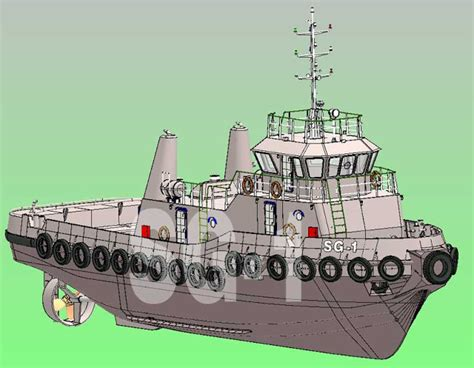 tugboat software solidworks for design tugboat