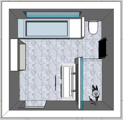 badezimmer 12m2 design
