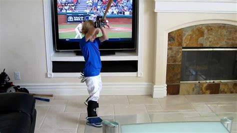 Who Played In House by When You Let Your Kid Play In The House 4 Year Baseball Christian Haupt Www Cathy Byrd