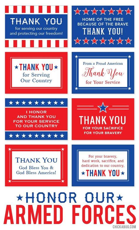 printable holiday cards for veterans free printable quot honor our armed forces quot cards free
