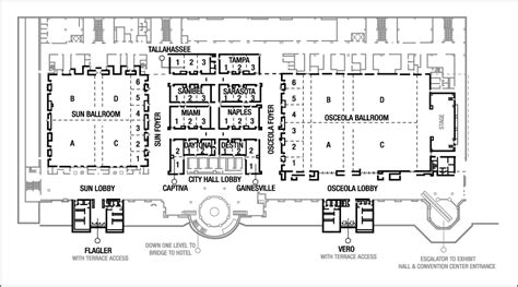 convention center floor plan business meeting venue in kissimmee at the gaylord palms
