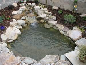pond waterfalls here s a small and simple pond wate