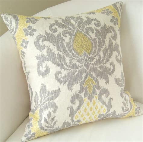 black sofa throw pillows gray yellow pillow cover ikat pillow decorative throw