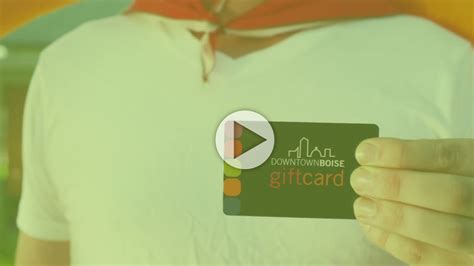 Boise Downtown Gift Card - downtown boise association quot downtown boise gift card quot youtube