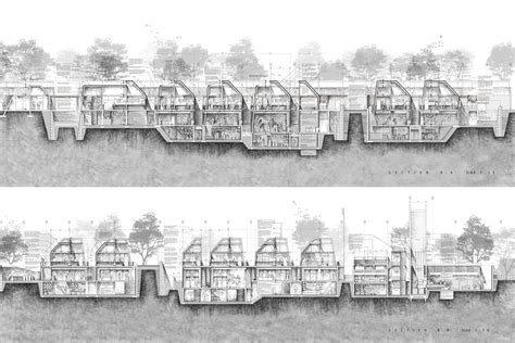 Architectural Section Drawings by Beautiful Sections On Architectural Drawings
