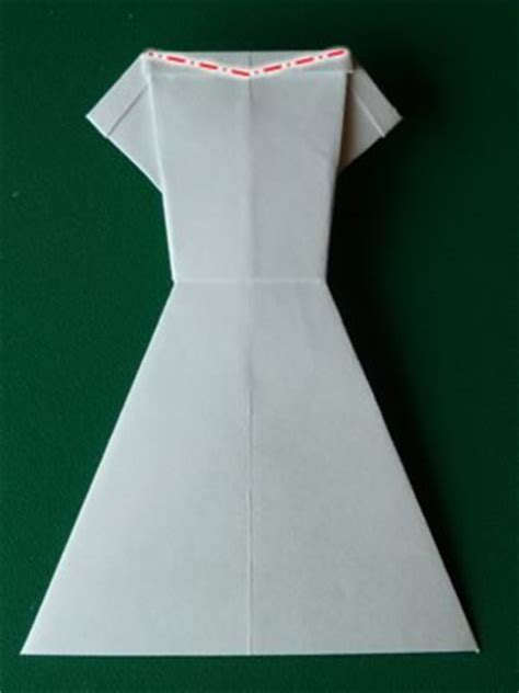 Money Origami Dress - money origami dress folding with photos