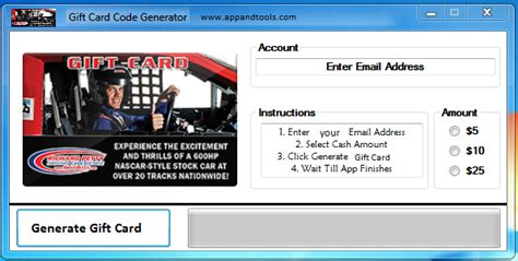 Experience Gift Cards - richard petty driving experience gift card generator online richard petty driving
