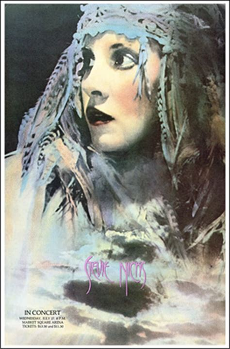 stevie nicks concert poster
