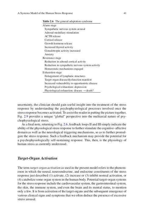Is Tepper Mba Stressful by Stages Of Stress Response Essay