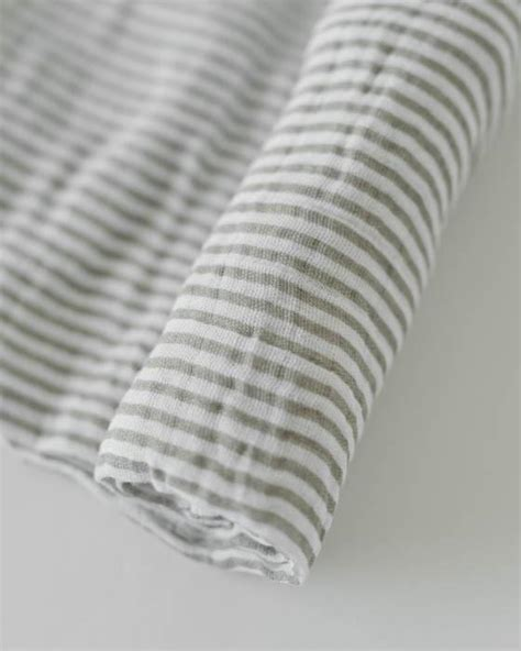 stripe dove gray designer removable wallpaper fun items little unicorn cotton muslin swaddle grey stripe