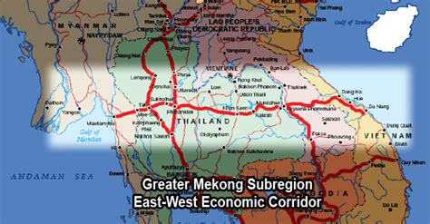 East West Detox Thailand by Great Mekong Subregion East West Economic Corridor