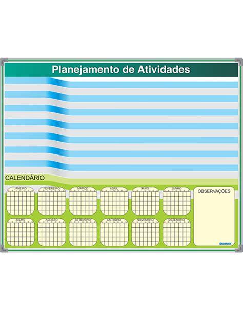 Calendario R Quadro De Planejamento Anual Calend 225 Isoflex