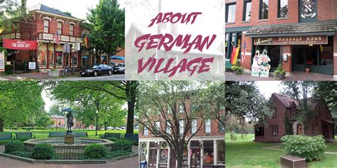 german village explore columbus german village