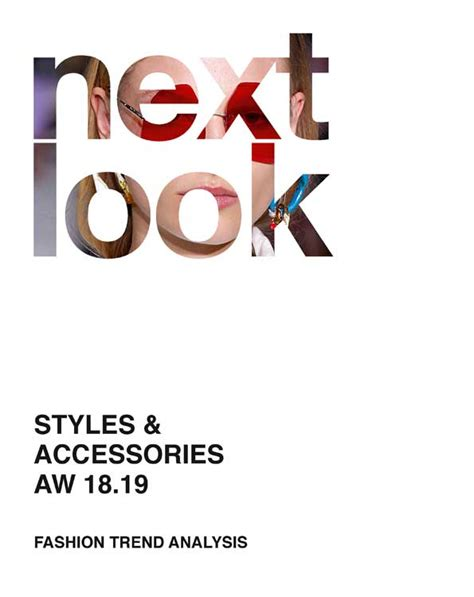 Next Look A/W 2018/2019 Fashion Trends Styles & Accessories mode information GmbH