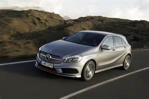 A Series Mercedes Static Comparison Mercedes A Class Vs Bmw 1 Series