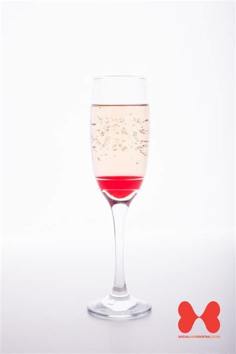 chagne cocktails blushing bride cocktail kir royale