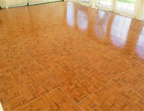 To Floor Oak Parquet Floor Town Country Event Rentals