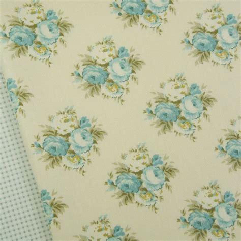 shabby chic fabric white blue tilda lake lizzie teal fabric quilting vintage shabby chic blue ebay