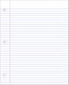 ruled paper template clipart lined paper