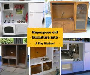Play Kitchen From Old Furniture diy play kitchen repurposed from an old furniture